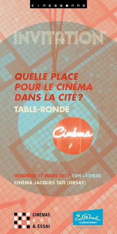 Invitation table ronde (cinéma)
