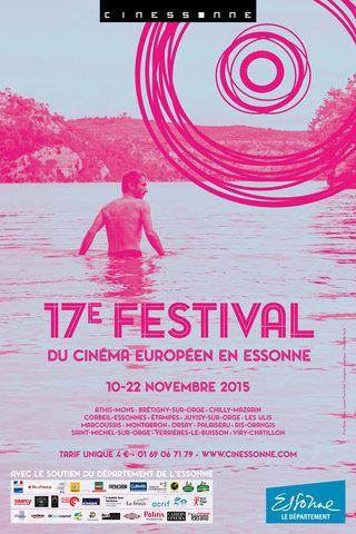 Visuel 17e Festival du cinéma européen en Essonne