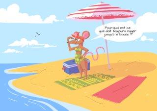 Vacances de souris
