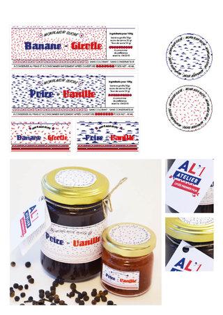 Projet de packaging - identité visuelle