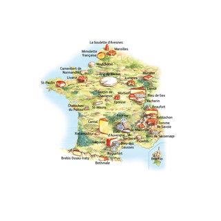 Fromages en France