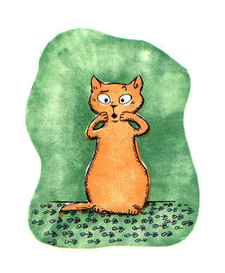 Le chat / illustration jeunesse (4)