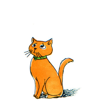 Le chat / illustration jeunesse (5)