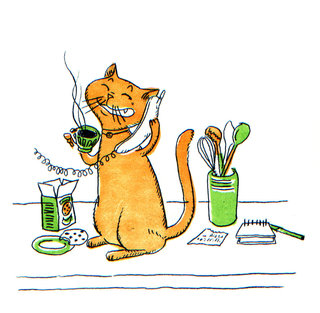 Le chat / illustration jeunesse (6)