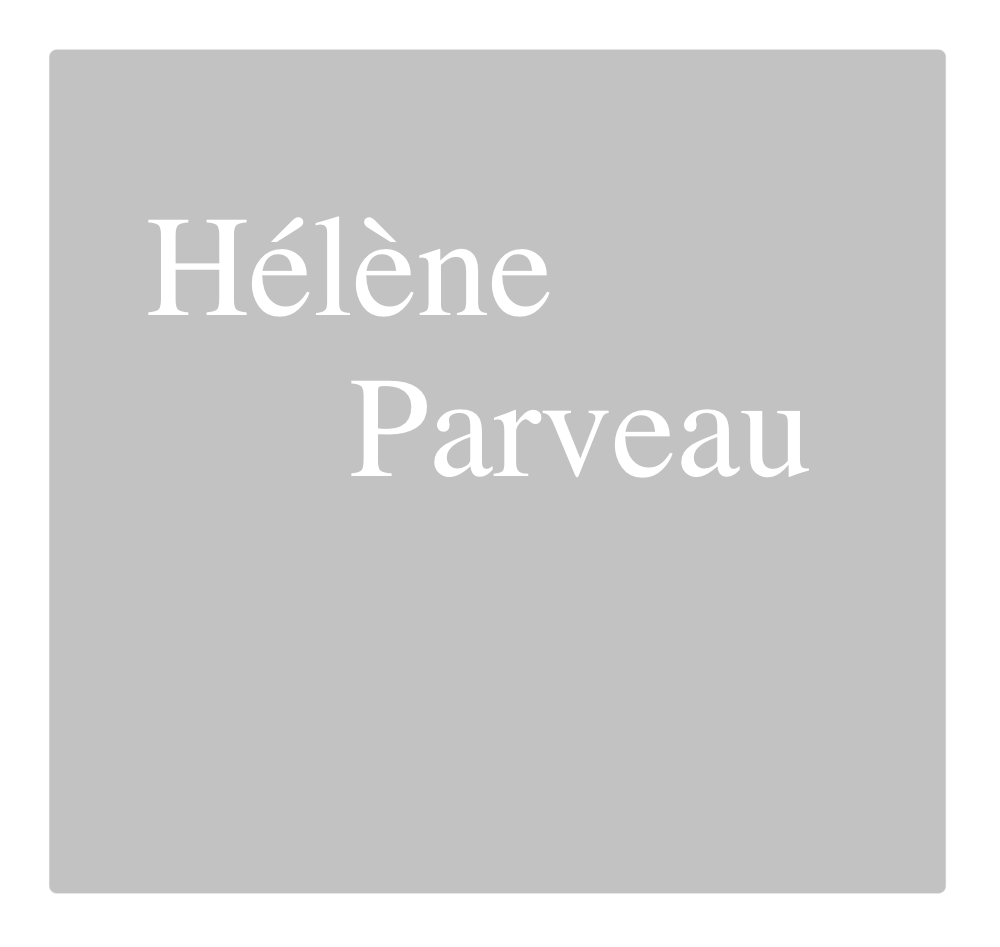 Hélène Parveau : Ultra-book