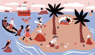 Le Noël des pirates, Histoire pour les petits ( Ed. Milan )