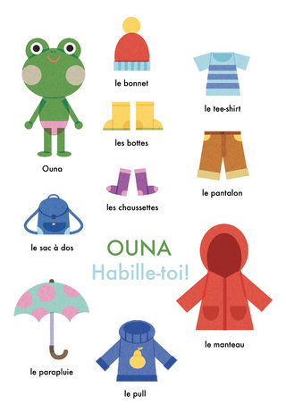 Ouna! Habille-toi! (projet perso)