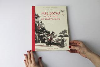 Mélilotus et le mystère de Goutte-Sèche (grand roman illustré)