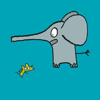 Un éléphant peureux