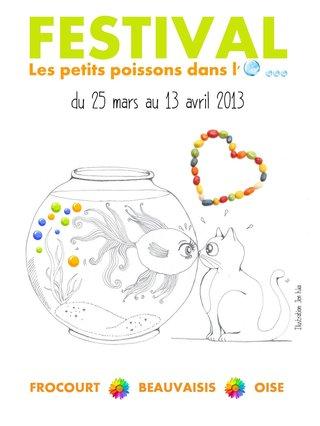Affiche - Festival des Petits Poissons dans l'O... 2013