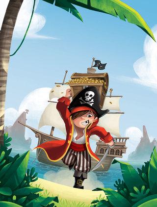 """Couverture """"Histoires de Pirates"""""""