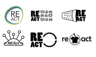 Recherches logos pour Re-Act