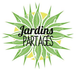 """Logo pour les """"Jardins Partagés"""""""