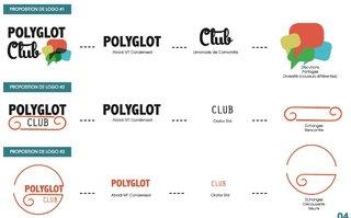 "Recherche Logotype "" Polyglot"""