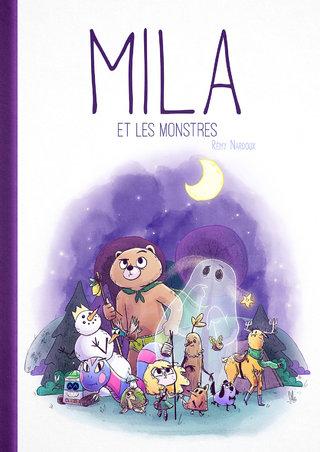 """Les Couvertures Imaginaires : """"Mila et les Monstres"""""""