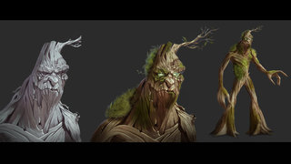 Tree Character design