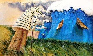 L'ombrelle et le parapluie