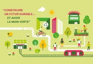 Carte de l'Université Paris Ouest