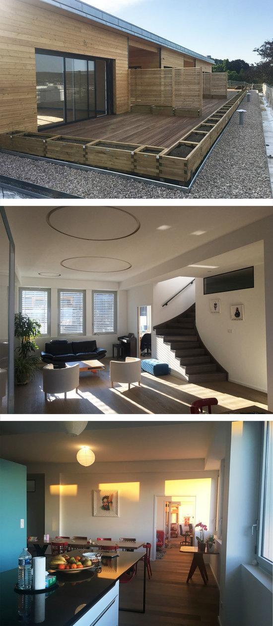 Aménagement d'appartements et extension en toiture à Nancy