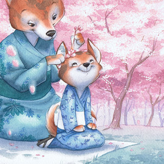 Hanami - Cerisiers en fleurs