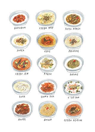 Les plats sénégalais