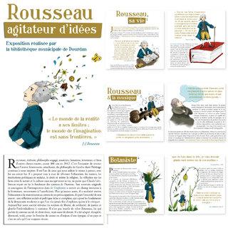 Exposition sur Jean-Jacques Rousseau
