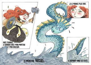 Bande dessinée Pia, princesse viking