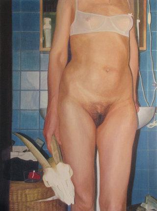 sans titre 1/15, 2015, acrylique sur toile, 97x130 cm