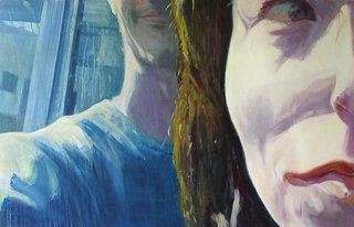 Marseille III, 2006, huile sur toile, 97x150 cm