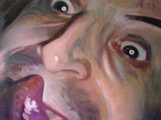 Gueule IV, 2006, huile sur toile, 97x130 cm