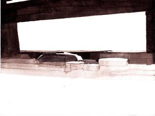 sans titre, 2011, acrylique sur papier, 18x24 cm
