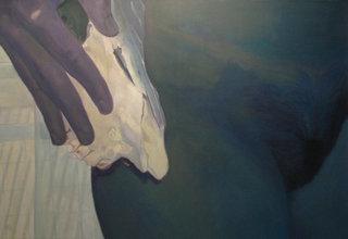 sans titre 4/14, 2014, huile sur toile, 80x120 cm