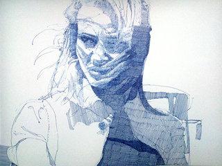 sans titre, 2014, stylo sur papier, 25x33 cm