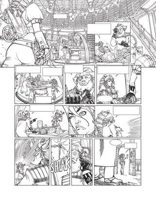 projet BD steampunk