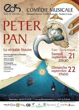illustration affiche Peter Pan