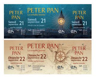 Billeterie Peter Pan