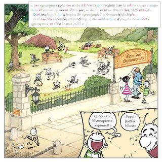 "illustration livre jeunesse ""Dicoville""."