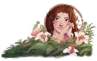 illustration couv livre Quinceanera.