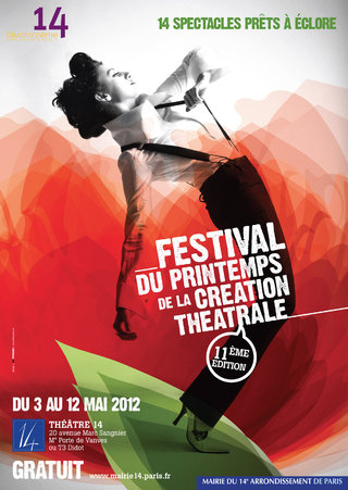 CREATION THEATRALE À PARIS - affiches