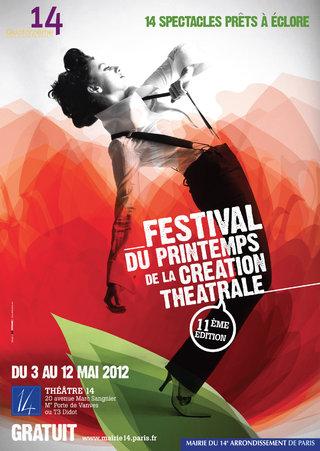 CREATION THEATRALE À PARIS - affiches