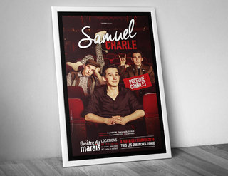 "Samuel Charle ""Presque complet"" - affiches"