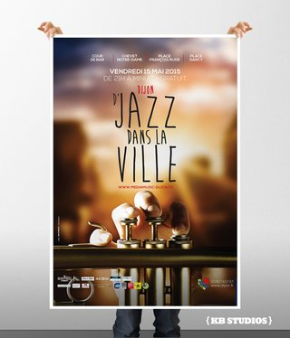 Campagne DJAZZ EN VILLE 2015 - affiches