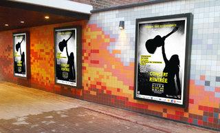 Concert de rentrée - Dijon - affiches