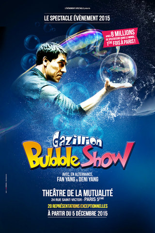 Fan Yang - Bubble Show à Paris - affiches
