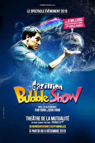 Fan Yang - Bubble Show à Paris - affiches