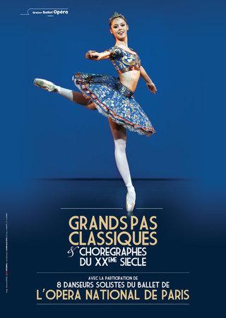 Grands pas classiques - Opéra de Paris - Gruber Ballet Opéra