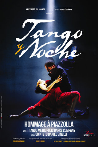 Tango Y Noché - Gruber Ballet Opéra - affiches
