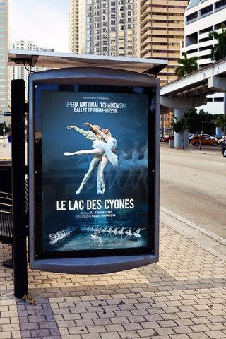 La Lac des Cygnes - affiches