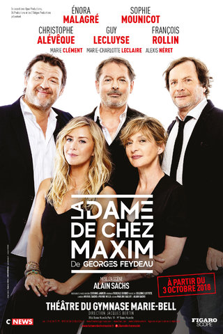 La Dame De Chez Maxim - Alain Sachs