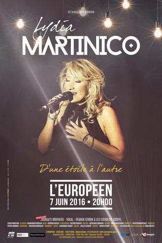 Lydia Martinico en concert à l'Européen, Paris